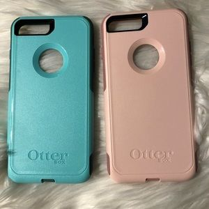NEVER USED otter box iPhone 8 Plus cases